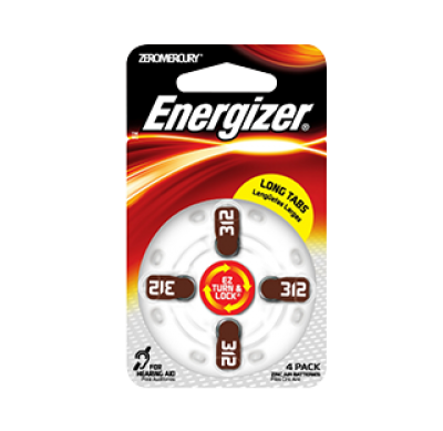 Energizer®  312 Batteries