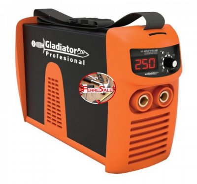 Soldadora Inverter Gladiator IE-8250 250 Amp