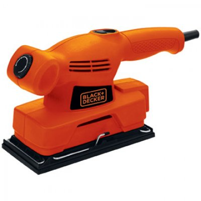BLACK + DECKER LIJADORA  DE HOJA  CD455